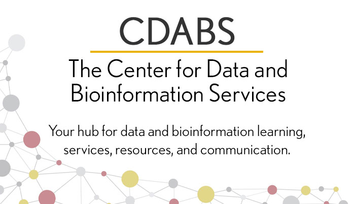 The Center for Data and Bioinformation Services
