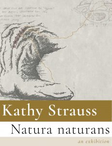 Kathy Strauss exhibit poster