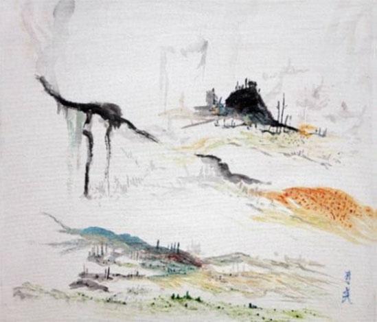 painting by Yumi Hogan