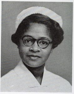 Photograph of Esther McCready, School of Nursing, Class of 1953