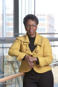 Photograph of Dr. Natalie D. Eddington, dean of the School of Pharmacy