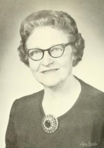 Photograph of Dr. Florence M. Gipe, 1966