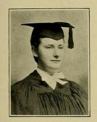 Photograph of Anna Francis Clancy, School of Pharmacy Class of 1906