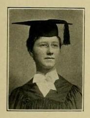 Photograph of E. Grace Lotz, University of Maryland, School of Pharmacy Graduate 1906