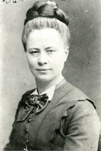 Photograph of Dr. Emilie Foeking, Baltimore College of Dental Surgery, Class of 1873.