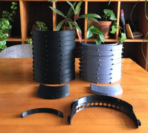 3D printed headband sets for medical face shields
