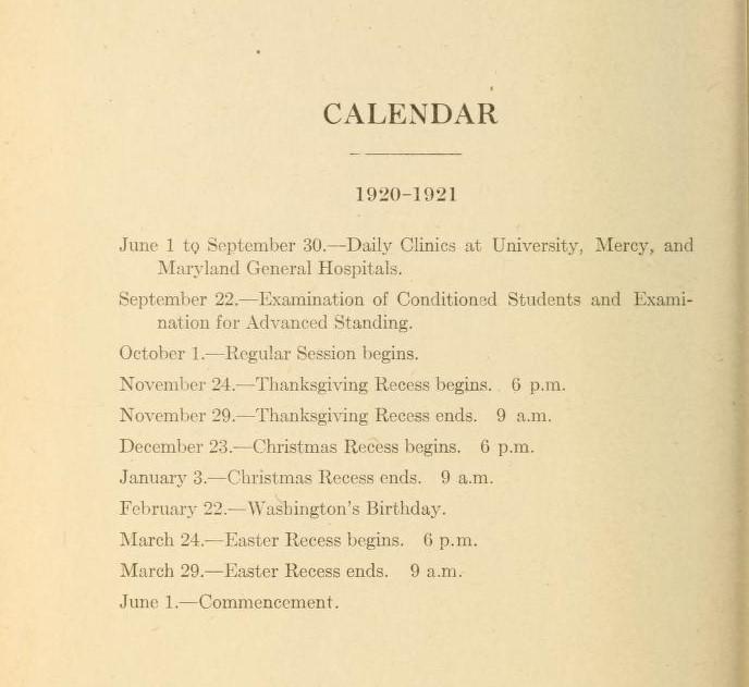 Image of 1920-21 Academic Catalog