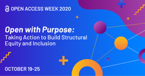 open access week 2020 banner
