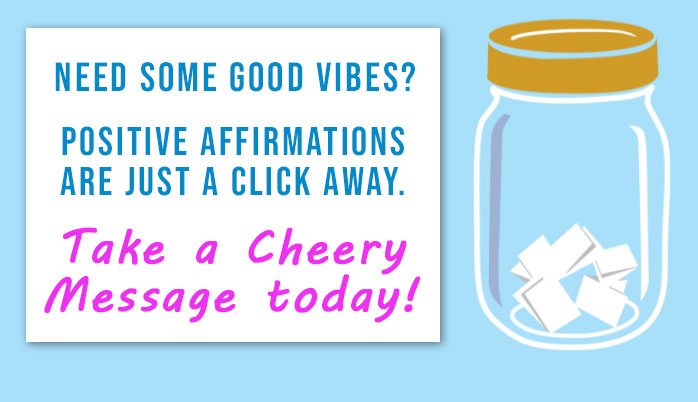 take a cheerful message jar