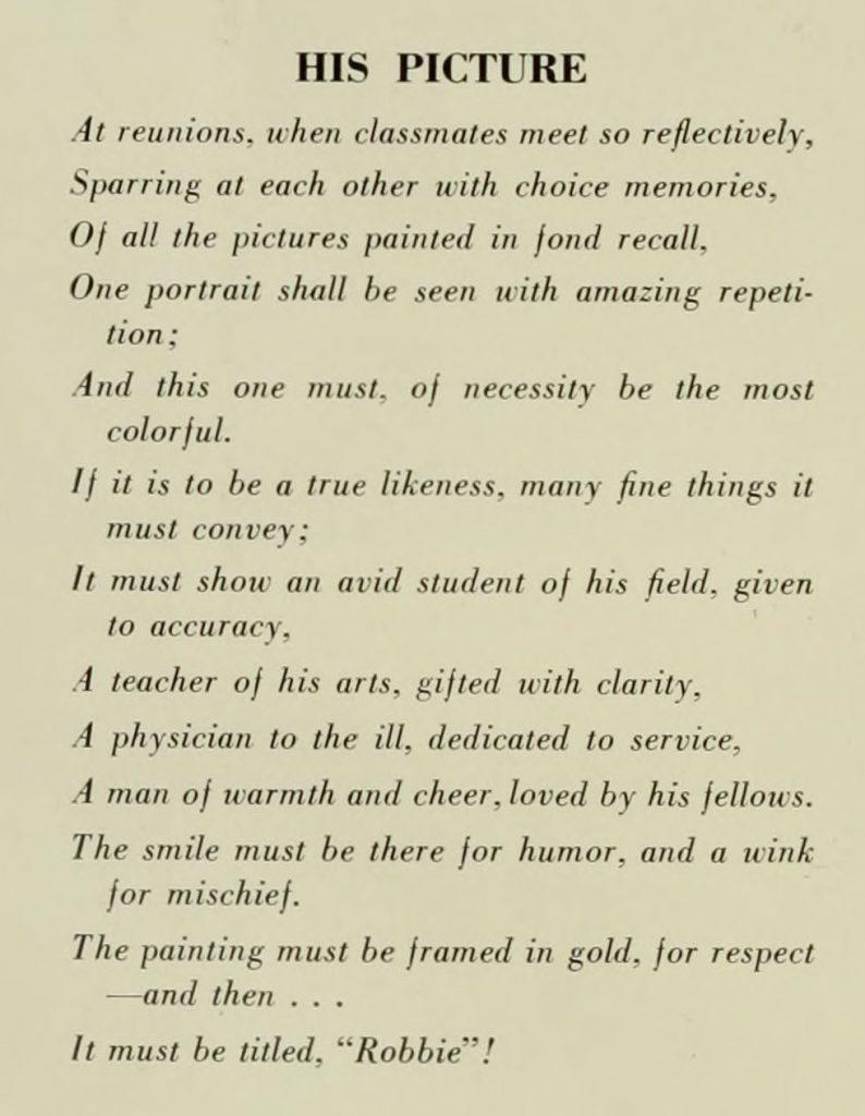 Typewritten poem