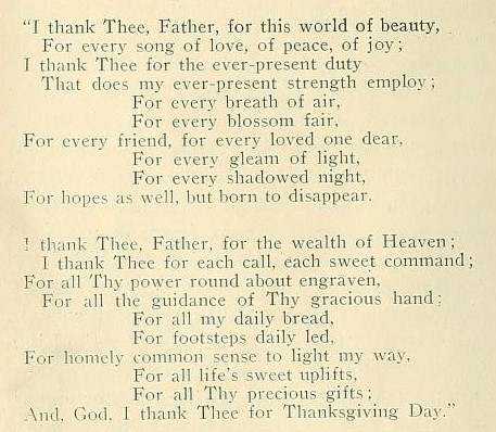 Two stanza typewritten poem