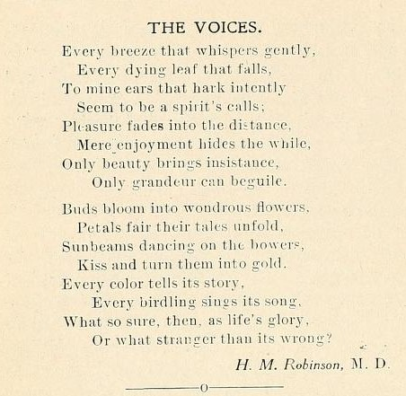 Two stanza poem