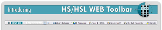 HS/HSL Web Toolbar