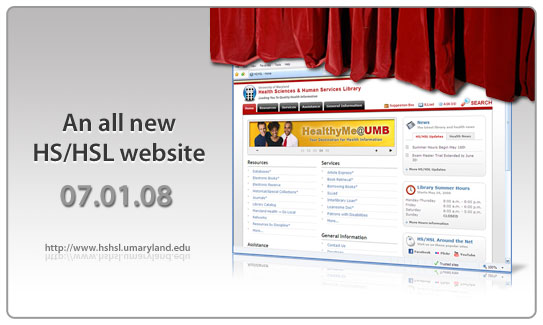 An all new HS/HSL website: 07/01/08