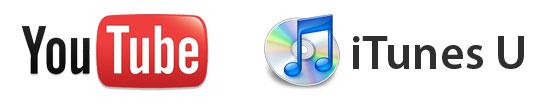 YouTube and iTunes U