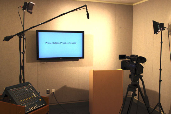 HS/HSL's Presentation Practice Studio