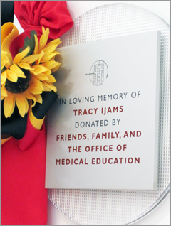 Ijams Study Room Dedicated