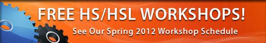 Free HS/HSL Workshops