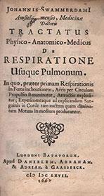 Tractatus Physico-Anatomico-Medicus de Respiratione Usuque Pulmonum