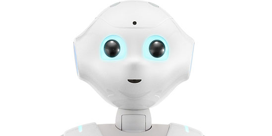 SoftBank Robotics Corporation's robot called Pepper