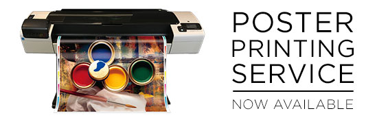Poster Printing Services Now Available