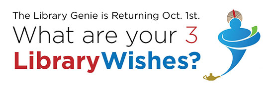 What are your 3 Library Wishes?