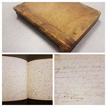 1837 Class Notes of Henry Waters