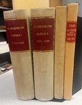 Dr. Eduard Uhlenhuth Volumes