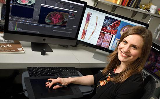 Lydia Gregg, Medical Illustrator